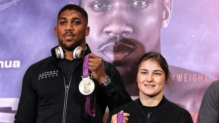Taylor could receive undisputed title fight on Anthony Joshua undercard