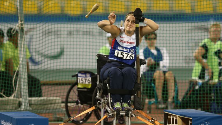 Grimes had success in athletics before returning to wheelchair rugby