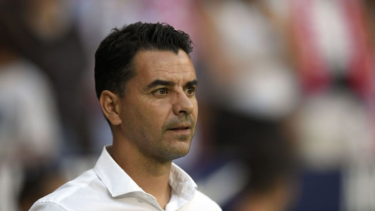 MIchel has been sacked by Rayo Vallecano after