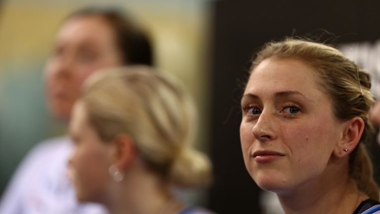 Laura Kenny withdrew from the omnium at the 2019 Track World Championships because of illness