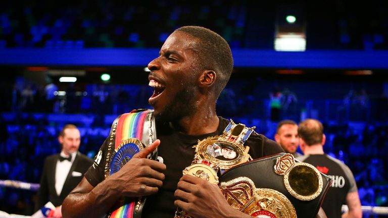 Okolie unified the Commonwealth and British cruiserweight titles in March