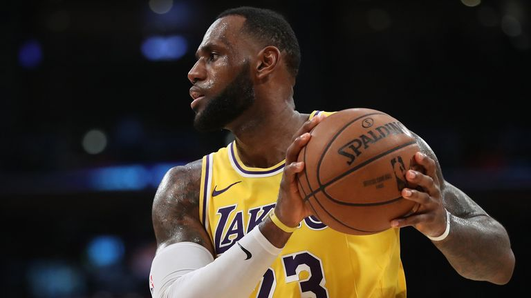LeBron James joined Lakers last summer