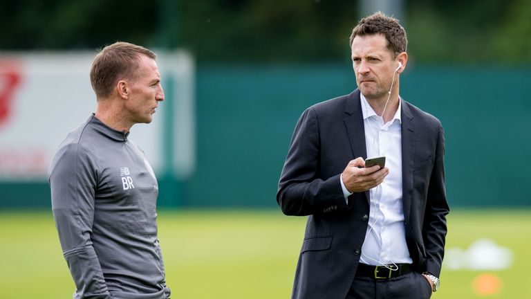 Congerton worked with Brendan Rodgers at Celtic and Chelsea