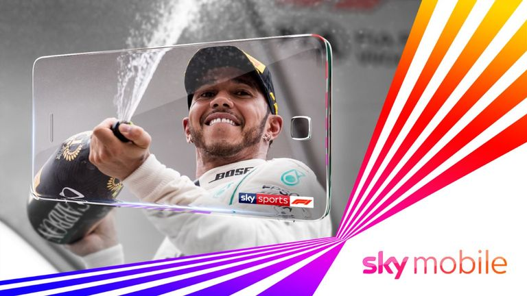Sky Mobile: Watch Sky Sports F1 on your mobile without using your data | F1 News
