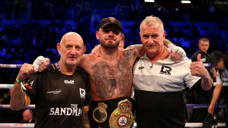Lewis Ritson bounced back from his sole defeat to claim a super lightweight win