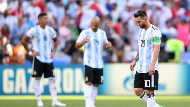 Lionel Messi has not played for Argentina since their last-16 defeat to France