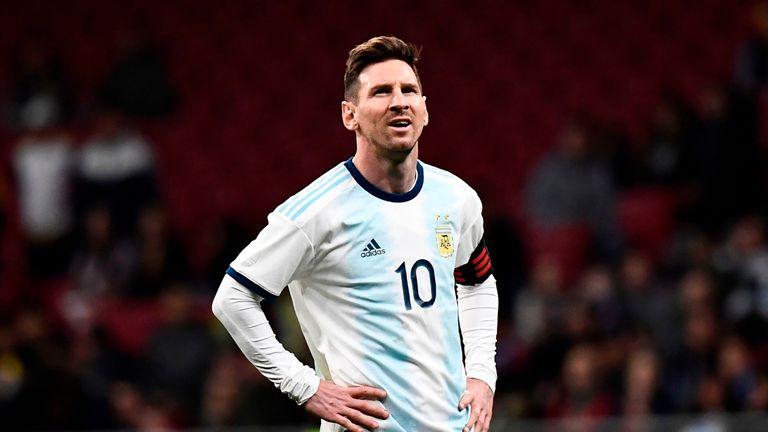 Image result for images of Lionel Messi in Copa America