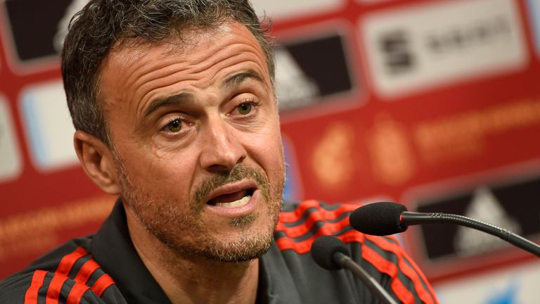 Luis Enrique's Spain side face Norway in the European Qualifiers