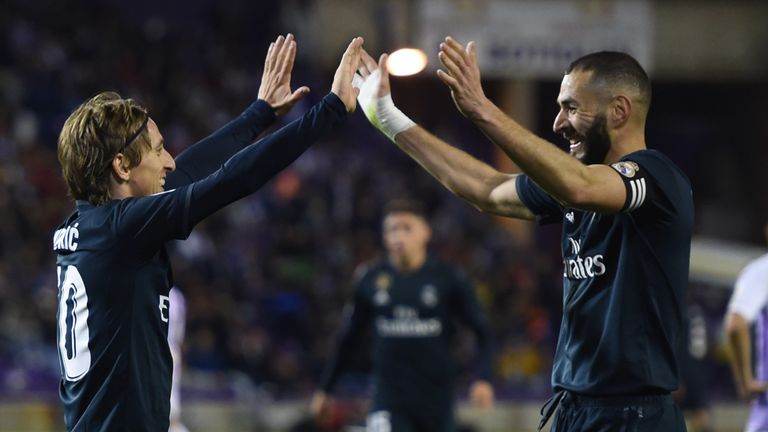 Valladolid 1 4 R Madrid Match Report Highlights