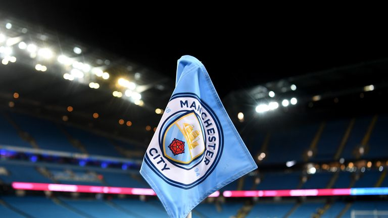 During the Premier League match between Manchester City and West Bromwich Albion at Etihad Stadium on January 31, 2018 in Manchester, England.