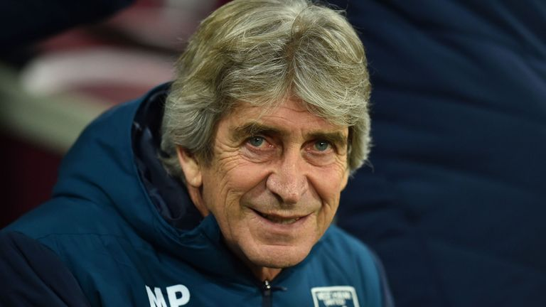 Manuel Pellegrini has been impressed with his side's performances at home