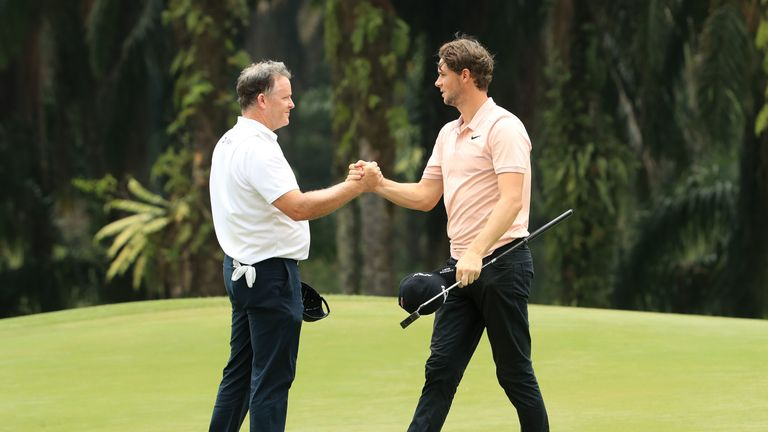 Fraser played alongside Thomas Pieters on the opening day