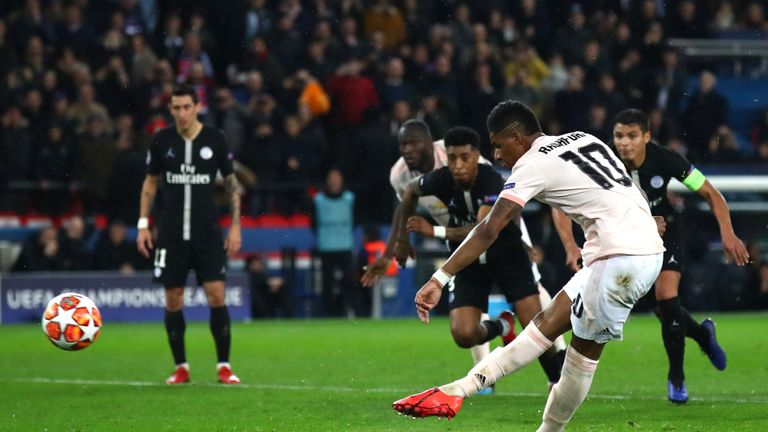 PSG 1 - 3 Man Utd - Match Report & Highlights
