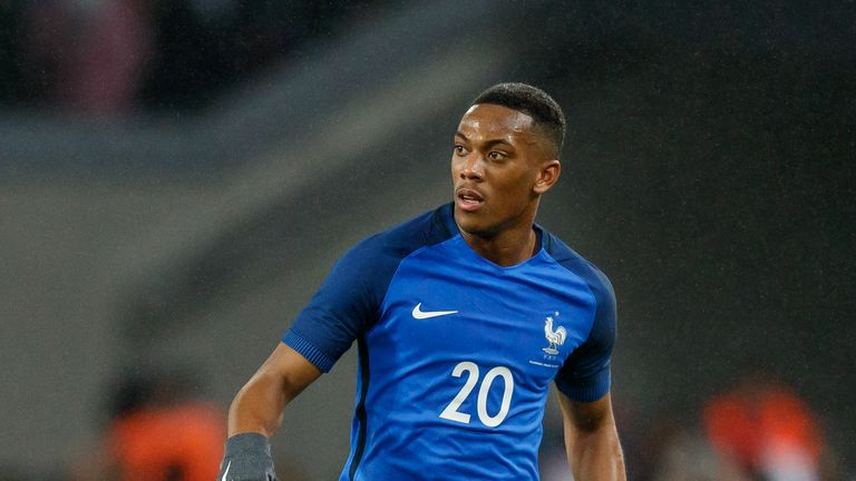 Martial looks set to receive his first cap for France since March 2018