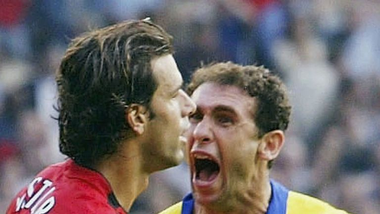 Martin Keown was suspended for his reaction at full-time, moments after he had missed a penalty