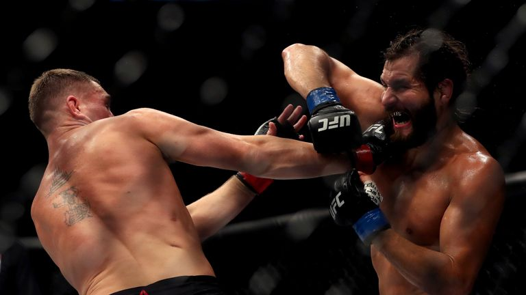 Masvidal knocked out Till in the second round of their welterweight fight