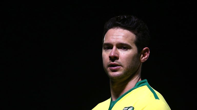 Matt Jarvis during the Premier League 2 match between West Ham United and Norwich City at Chigwell Construction Stadium on January 9, 2017 in Dagenham, England.