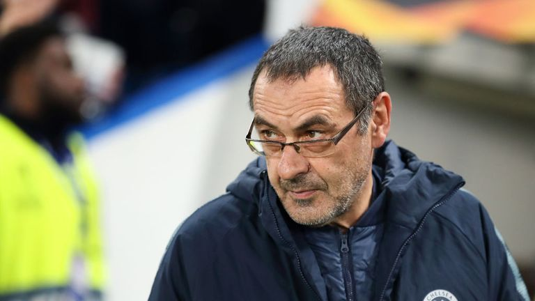Maurizio Sarri must decide how much to rotate following Chelsea's 3-0 first-leg win