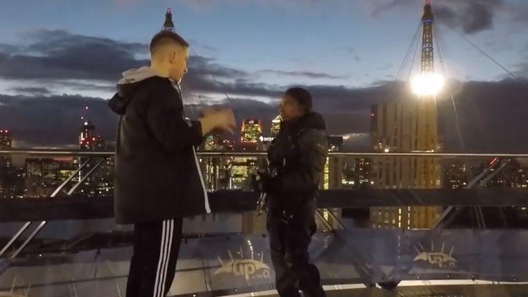 Max Whitlock, Simone Biles on top of London's O2