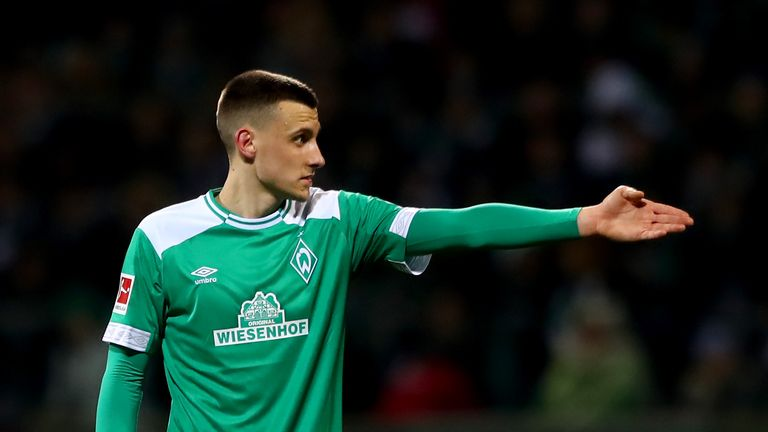 Maximilian Eggestein has started all 26 Bundesliga games for Werder Bremen this season