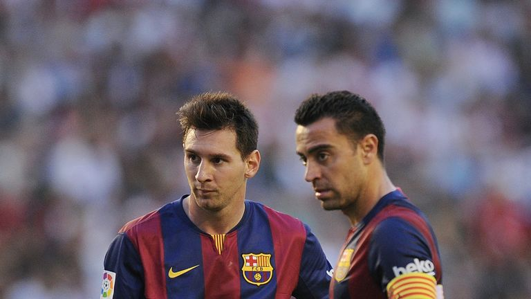 Lionel Messi Best Player In History Says Xavi Football News Sky Sports
