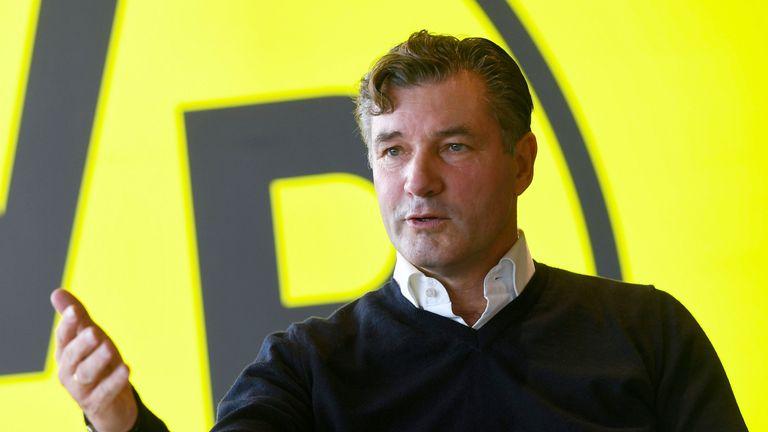 Borussia Dortmund sporting director Michael Zorc