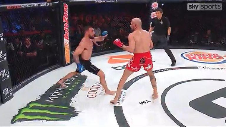 MMA - Brandon Girtz beats Saad Awad