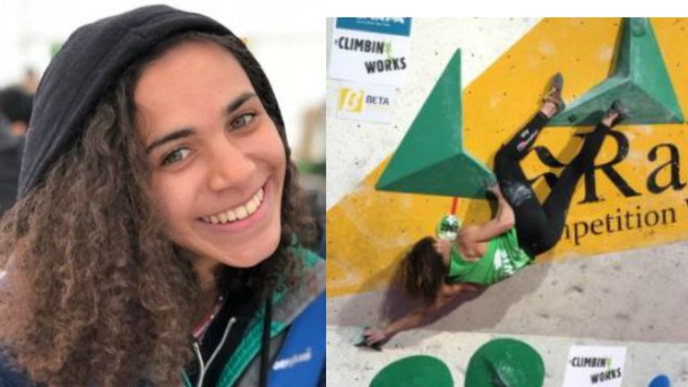 Molly Thompson-Smith has qualified for the World Cup events
