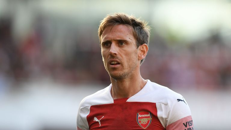 Nacho Monreal says the aim for Arsenal this year is to finish in fourth place
