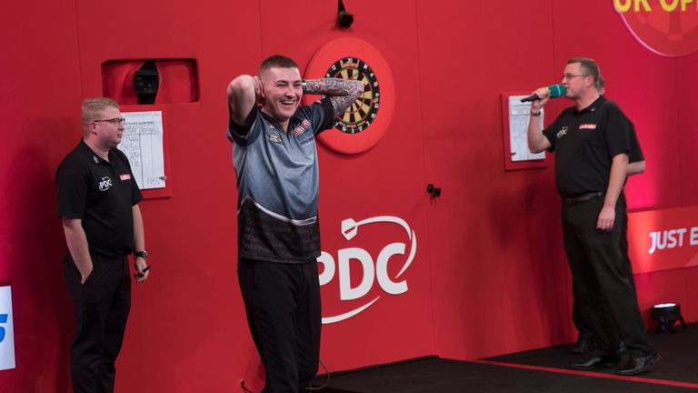 Aspinall only secured a return to the PDC Tour last January and now rises to 16th in the Order of Merit