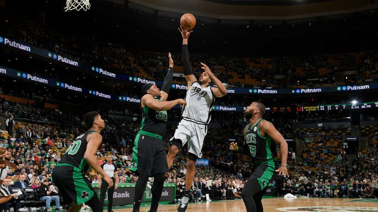 Boston Celtics against San Antonio Spurs from the NBA