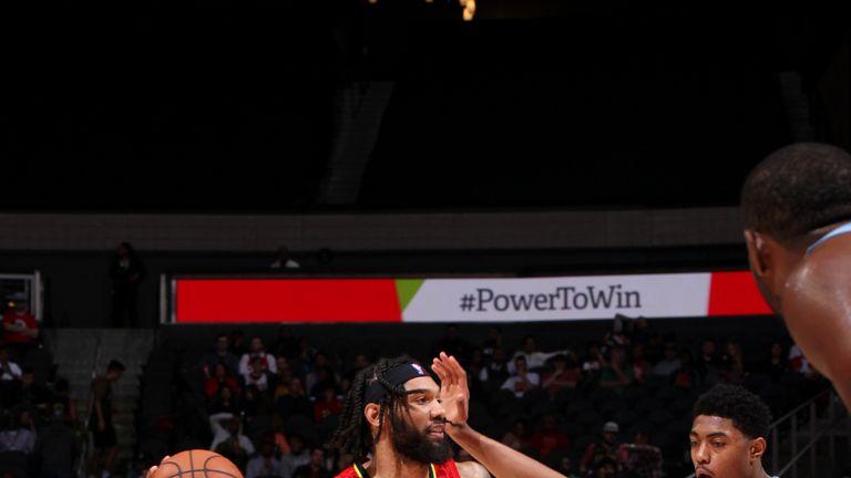 DeAndre' Bembry of Atlanta Hawks