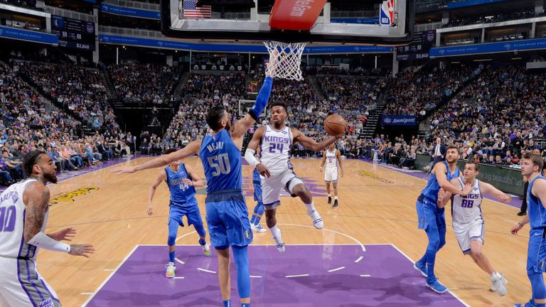 NBA Dallas Mavericks v Sacramento Kings