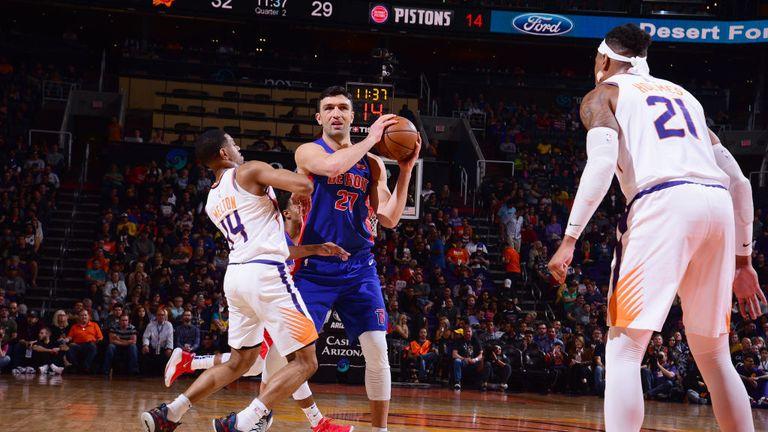 NBA Detroit Pistons v Phoenix Suns
