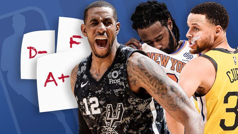 NBA Report Card