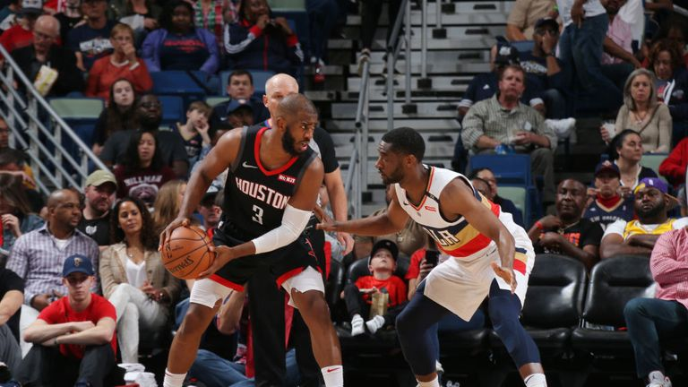 New Orleans Pelicans v Houston Rockets NBA
