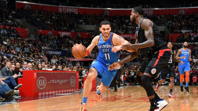 Williams, Gallinari lead Clippers past Thunder 118-110