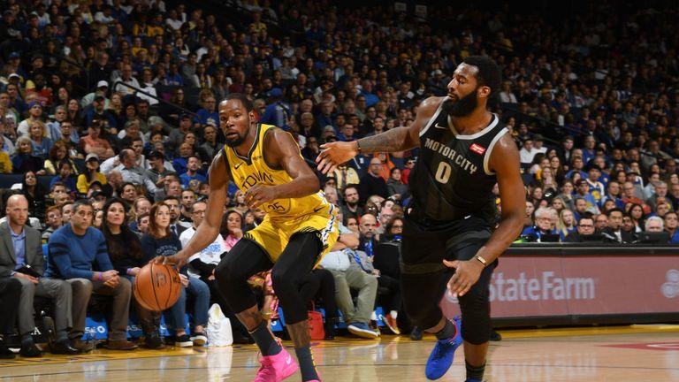 NBA Golden State Warriors vs. Detroit Pistons