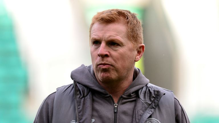 Neil Lennon takes his Celtic side to Dens Park to face Dundee