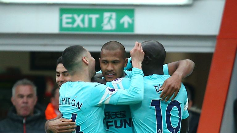 Salomon Rondon maintained his run of fine form at the weekend