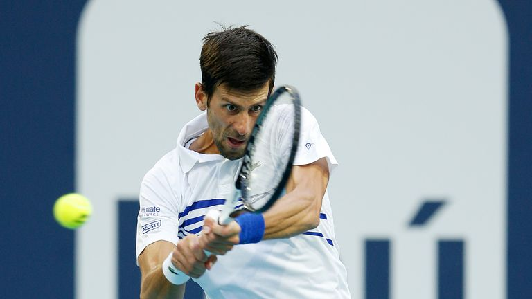 World No 1 Novak Djokovic is a possible quarter-final opponent for Edmund if both men come through their fourth-round matches
