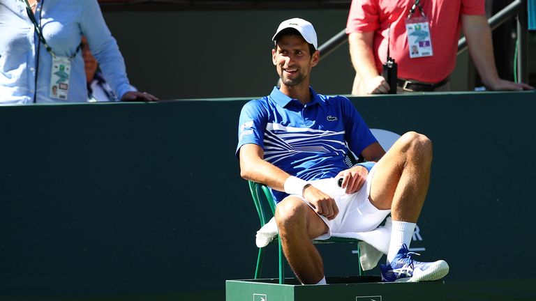 Novak Djokovic called the move 'very courageous'
