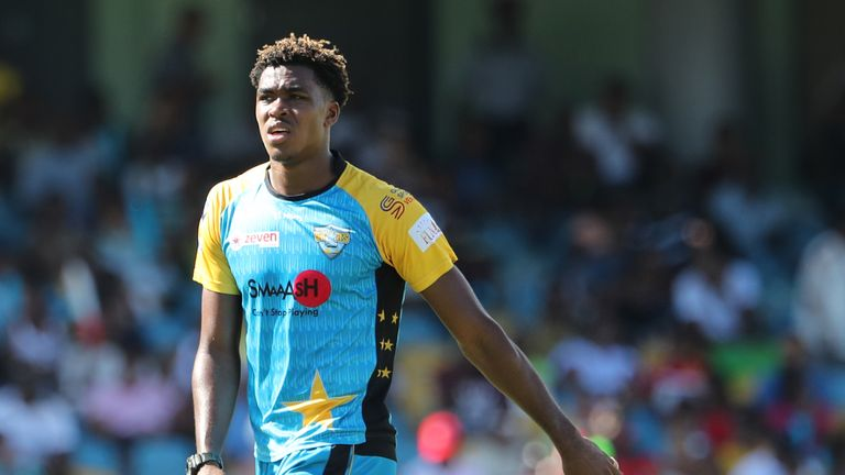 Obed McCoy has played two one-day internationals for Windies