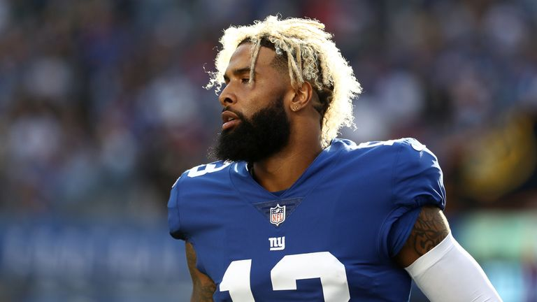 ebb27f83a Odell Beckham Jr bids farewell to New York Giants after Cleveland ...