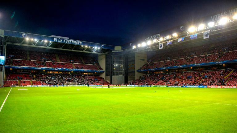 Copenhagen's Parken Stadium will host four Euro 2020 games next year