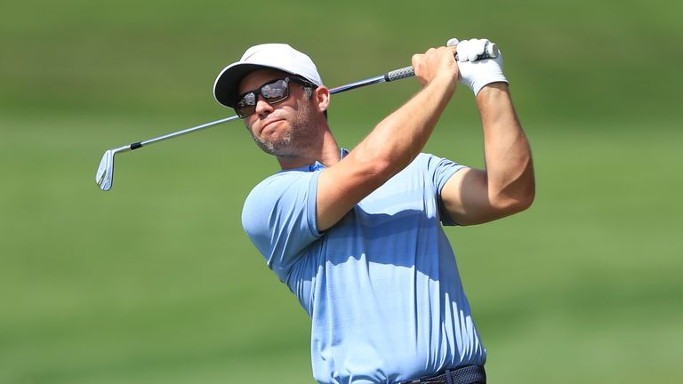 Defending champion Paul Casey opened with a one-under 70