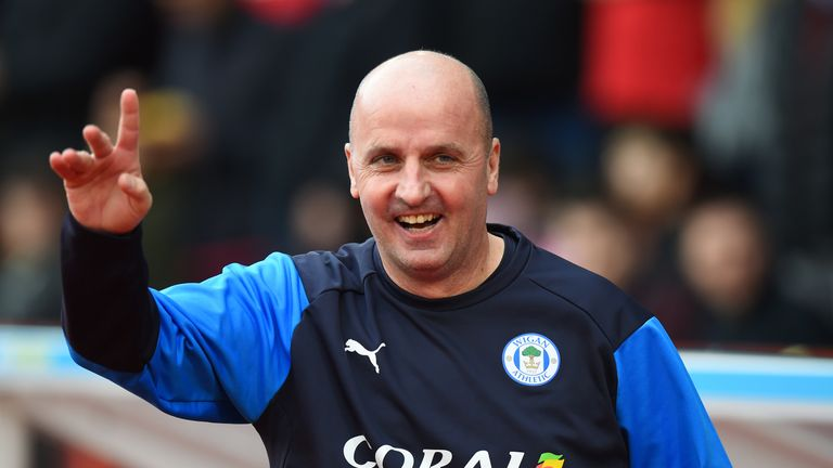 Paul Cook's Wigan beat automatic promotion chasing Leeds on Good Friday