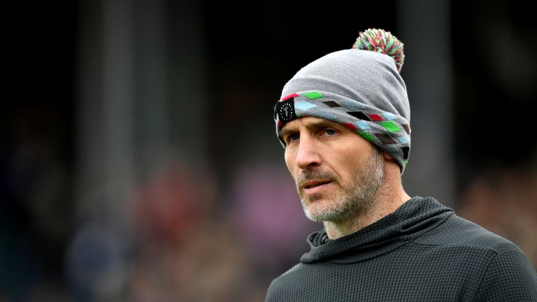 Quins head coach Paul Gustard will be hoping Northampton slip up at Exeter to open the door to fourth