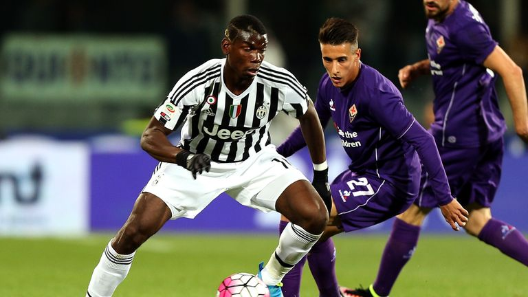 After four years at Juventus Pogba returned to United