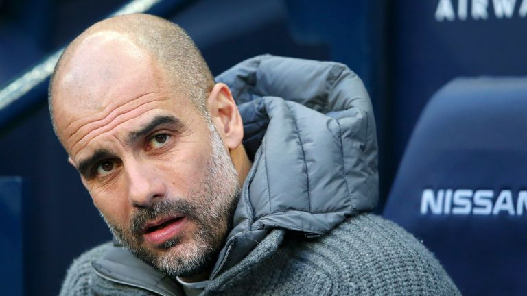 Pep Guardiola defended Manchester City's backing of VAR